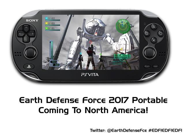 Earth Defense Force 2017 Portable - 1