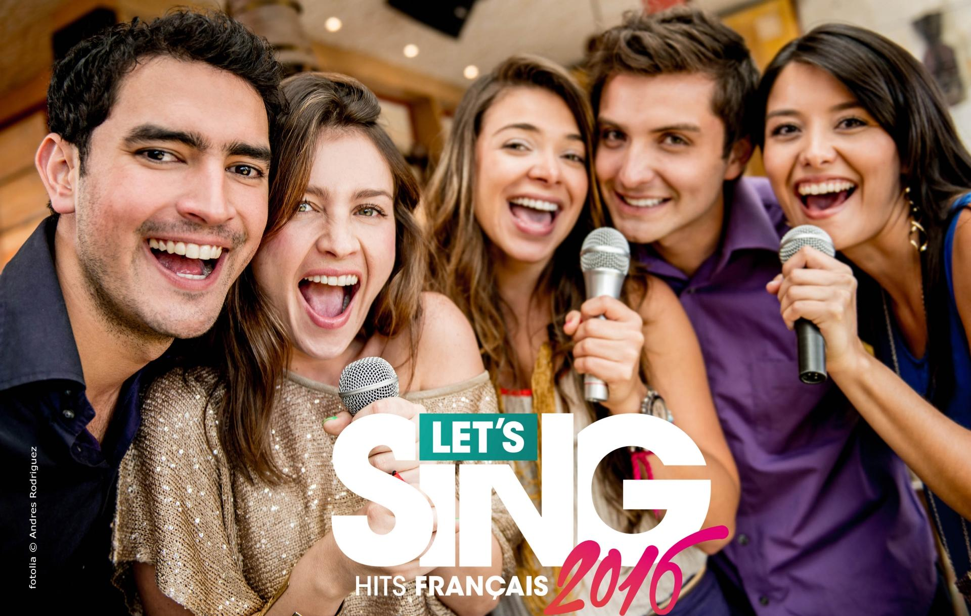 Test - Let's Sing 2016 : Hits Français