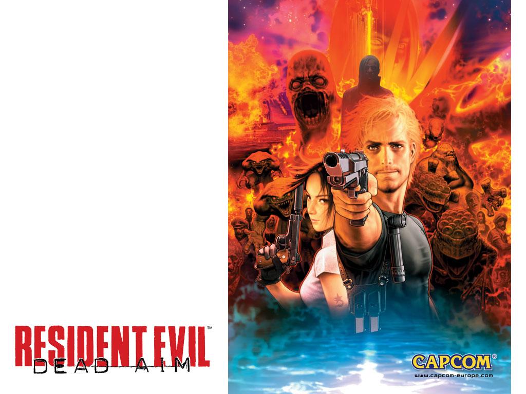 Fond d'�cran2 de Resident Evil : Dead Aim - galerie