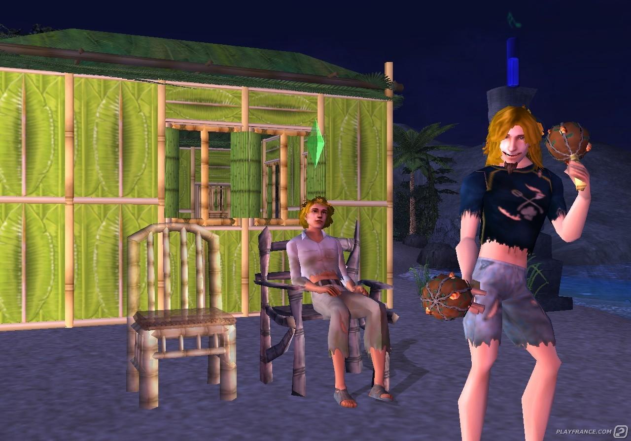 Image42 de Les Sims 2 Naufragés