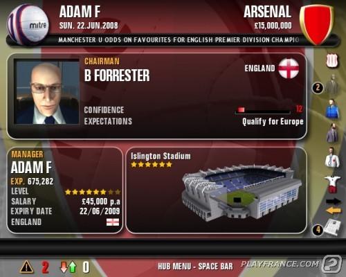 Image2 de Premier Manager 2009