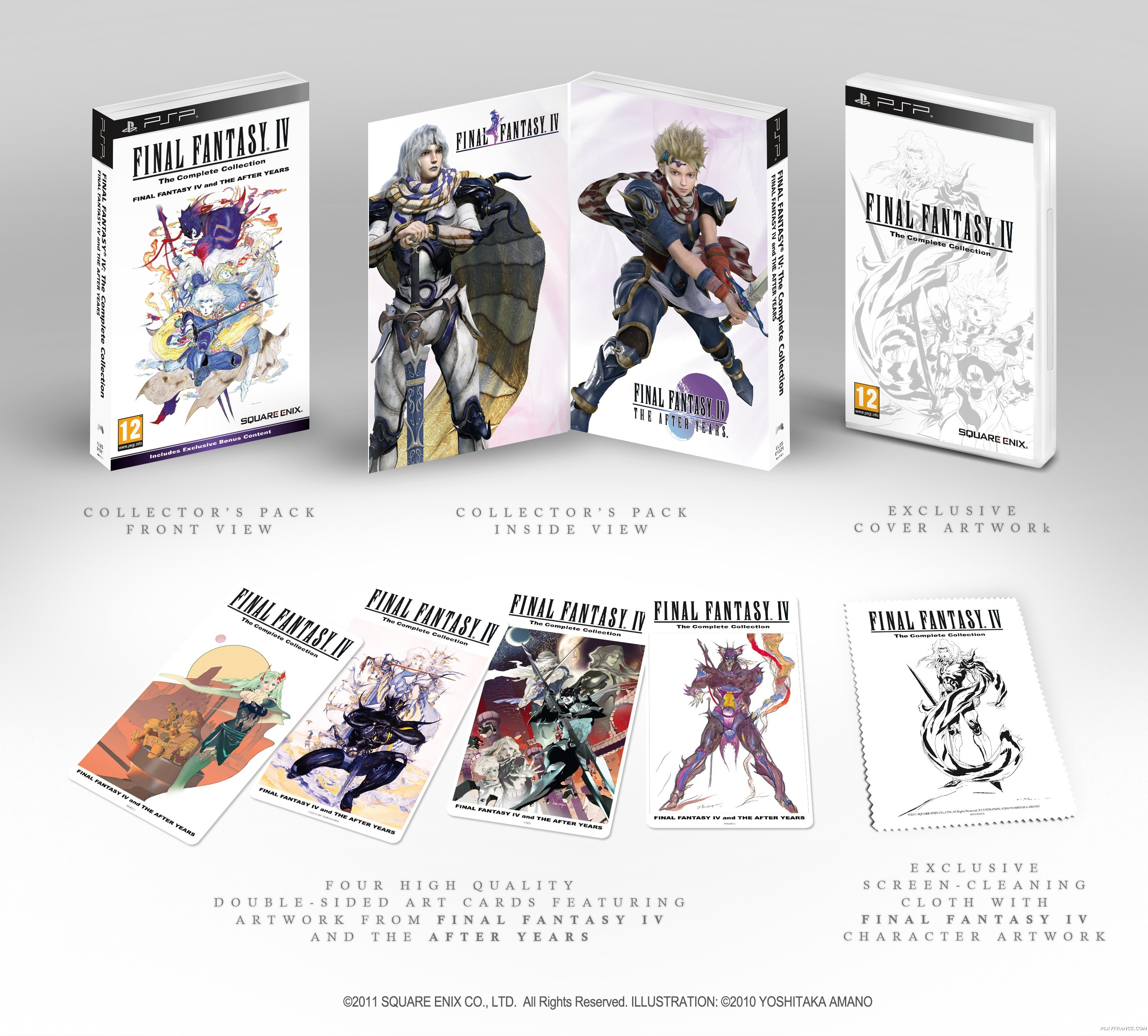 Artwork9 de Final Fantasy IV Complete Collection - galerie