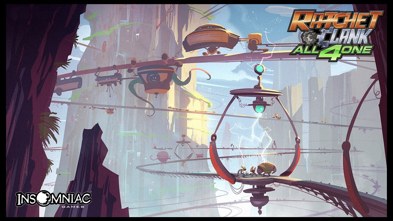 Artwork2 de Ratchet & Clank : All 4 One