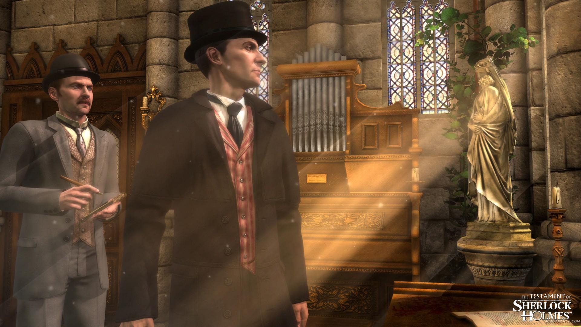 Image36 de Le Testament de Sherlock Holmes
