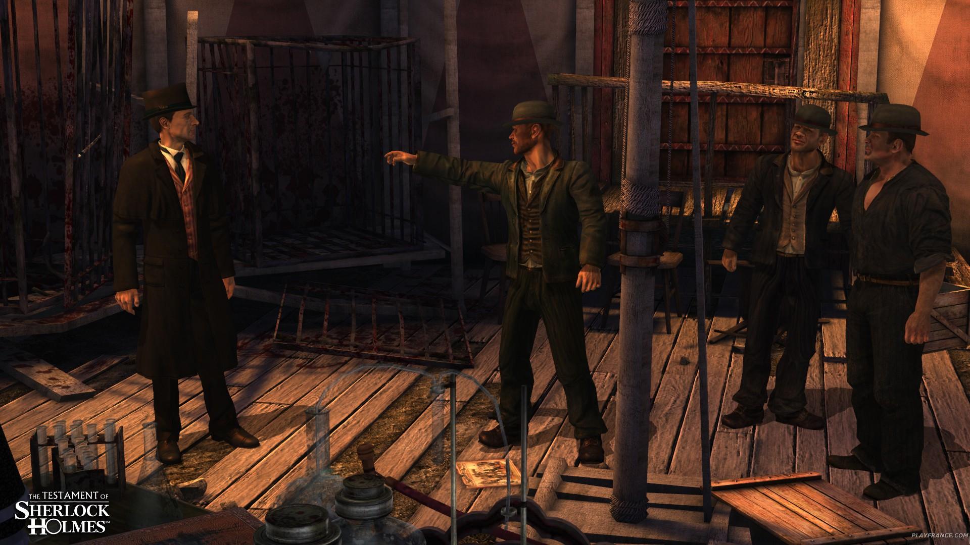 Image26 de Le Testament de Sherlock Holmes
