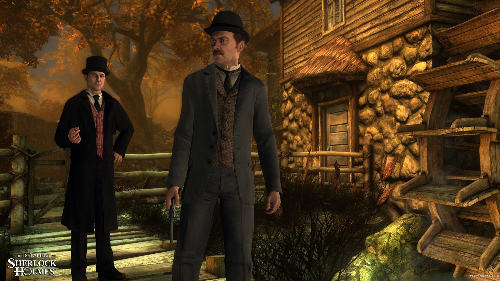 Image29 de Le Testament de Sherlock Holmes