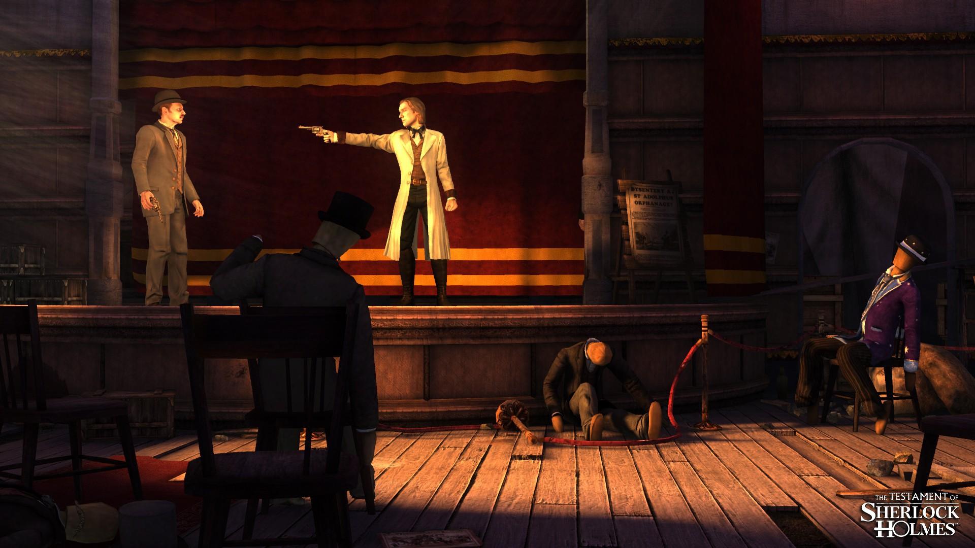 Image42 de Le Testament de Sherlock Holmes
