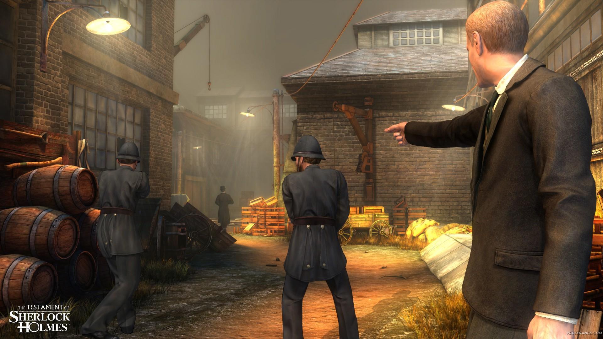 Image35 de Le Testament de Sherlock Holmes