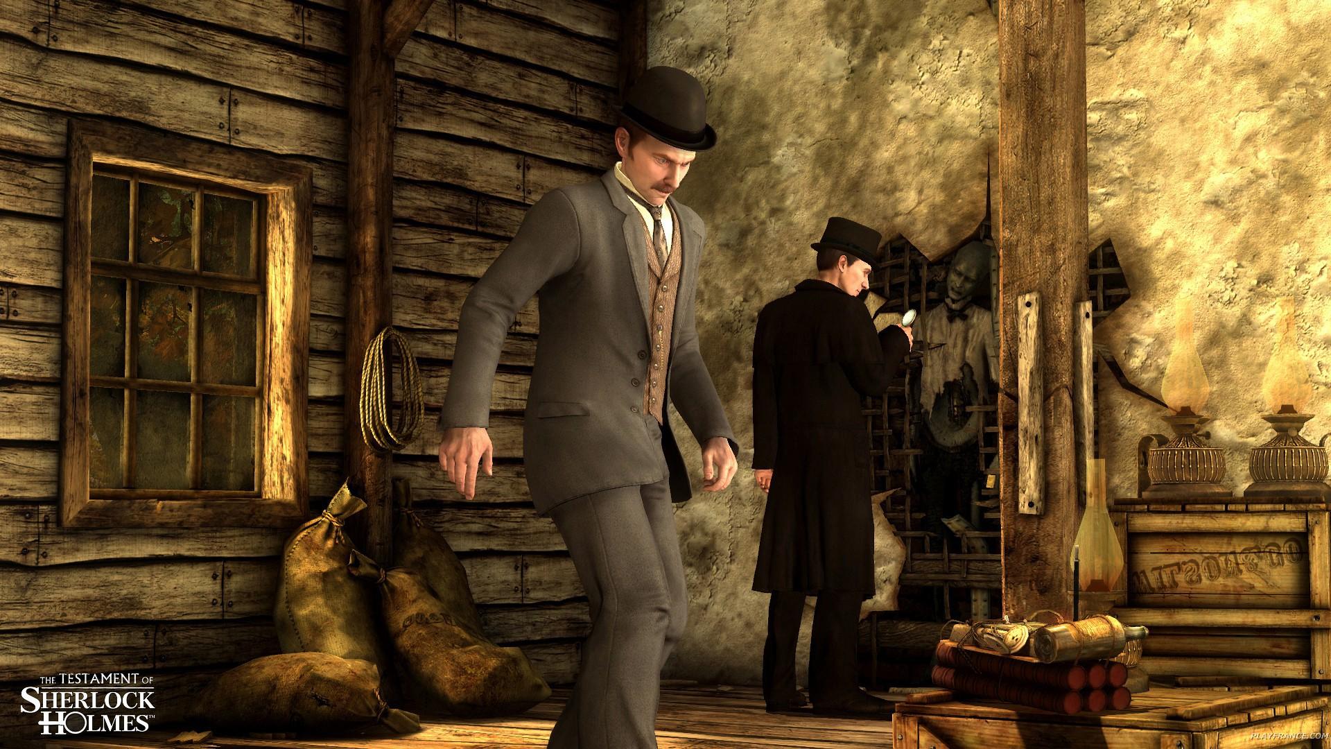 Image46 de Le Testament de Sherlock Holmes
