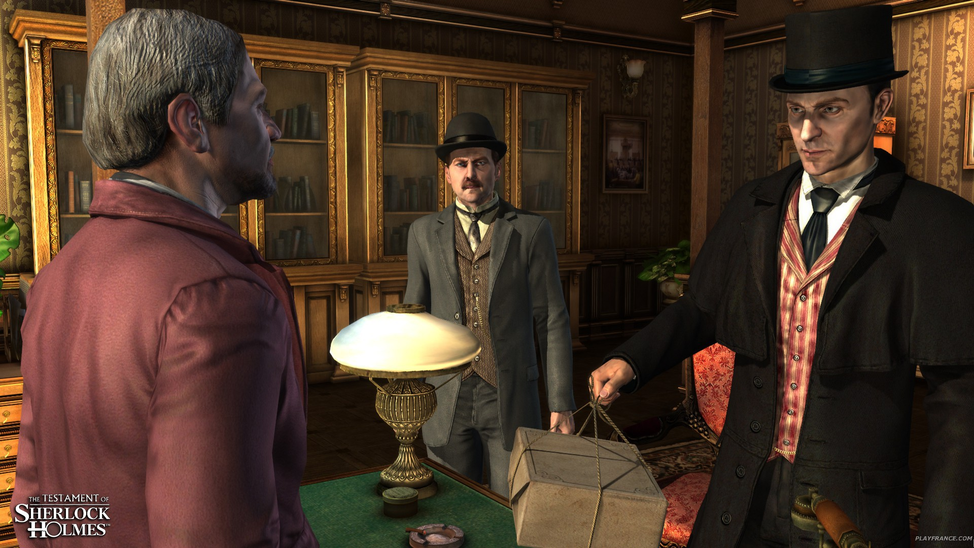 Image27 de Le Testament de Sherlock Holmes