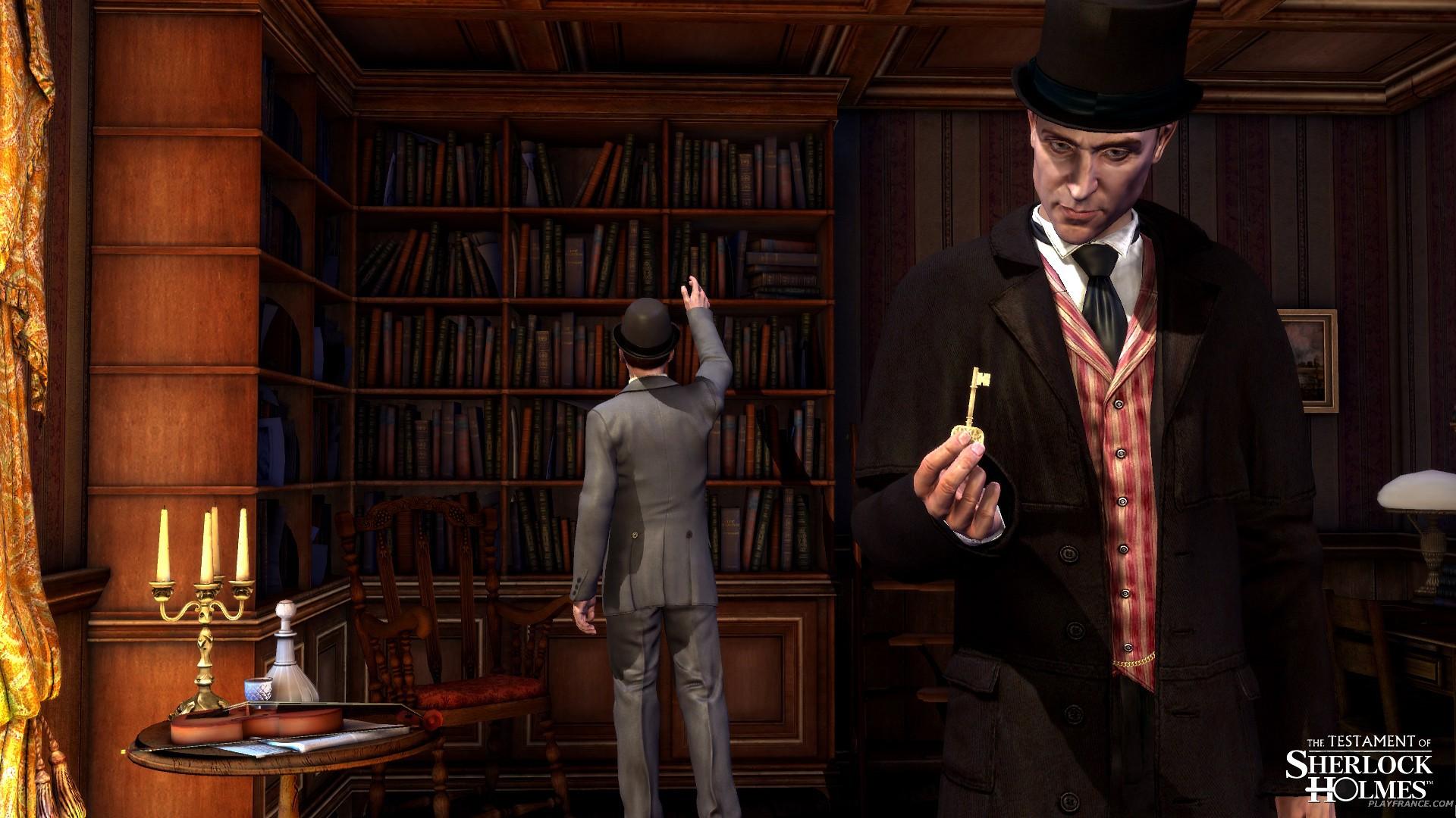 Image45 de Le Testament de Sherlock Holmes