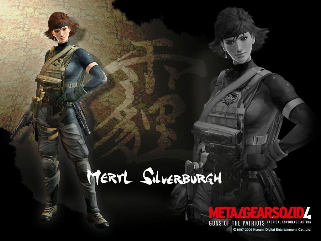 Fond d'écran2 de Metal Gear Solid 4 : Guns of the Patriots