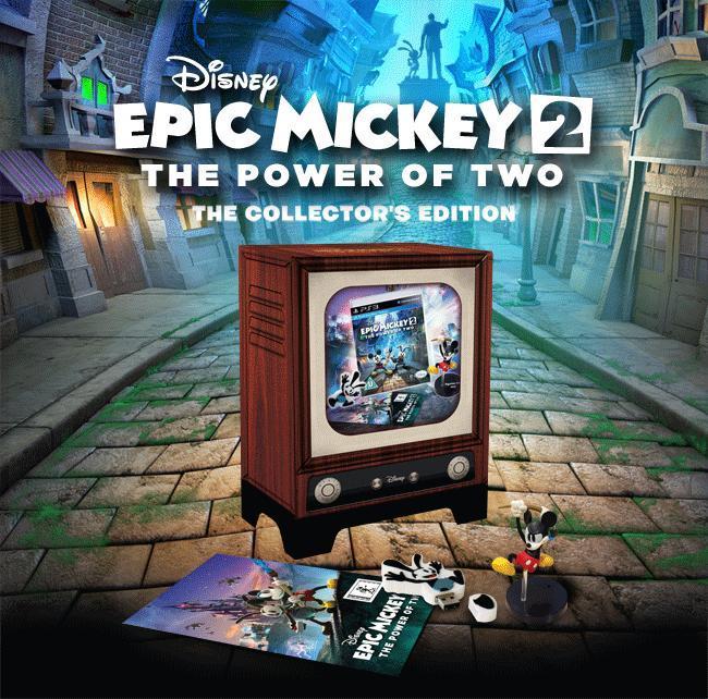 Artwork2 de Epic Mickey : Le retour des héros - galerie
