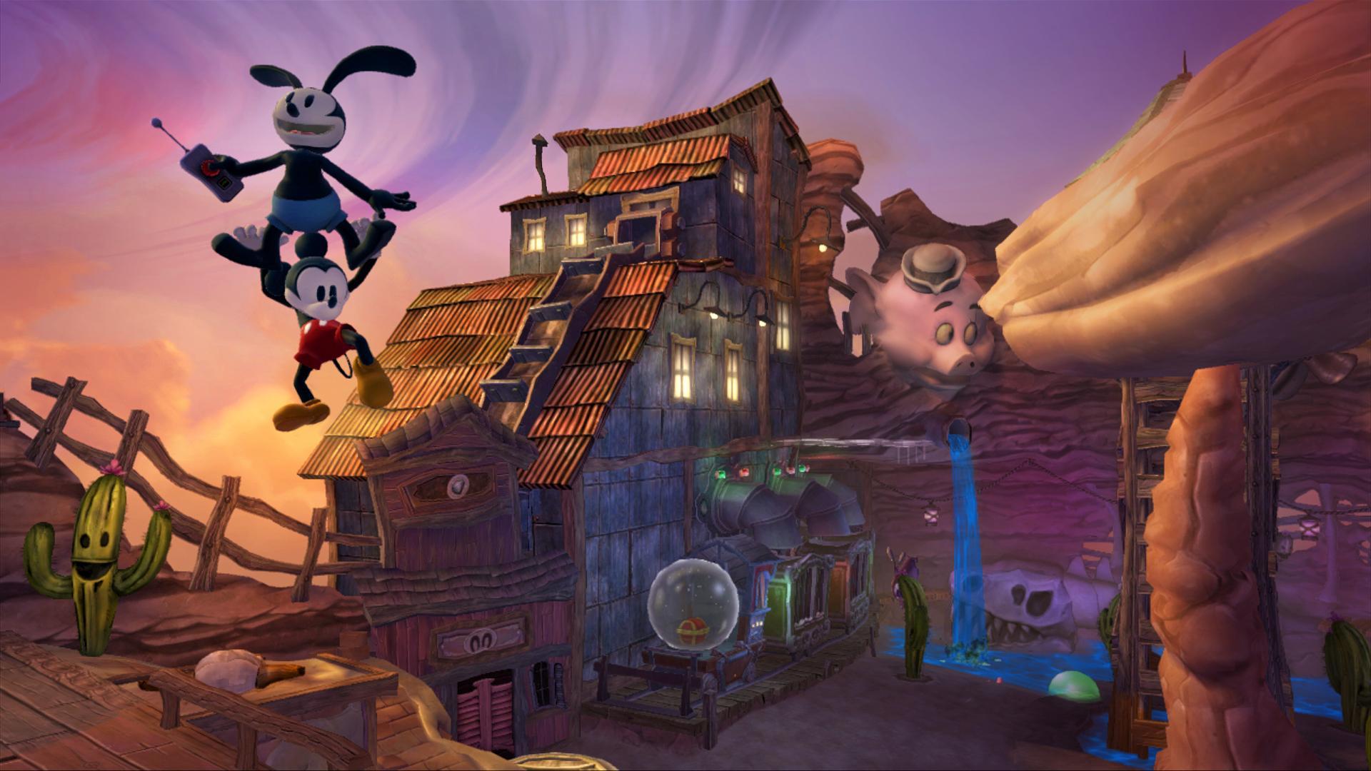 Image28 de Epic Mickey : Le retour des héros
