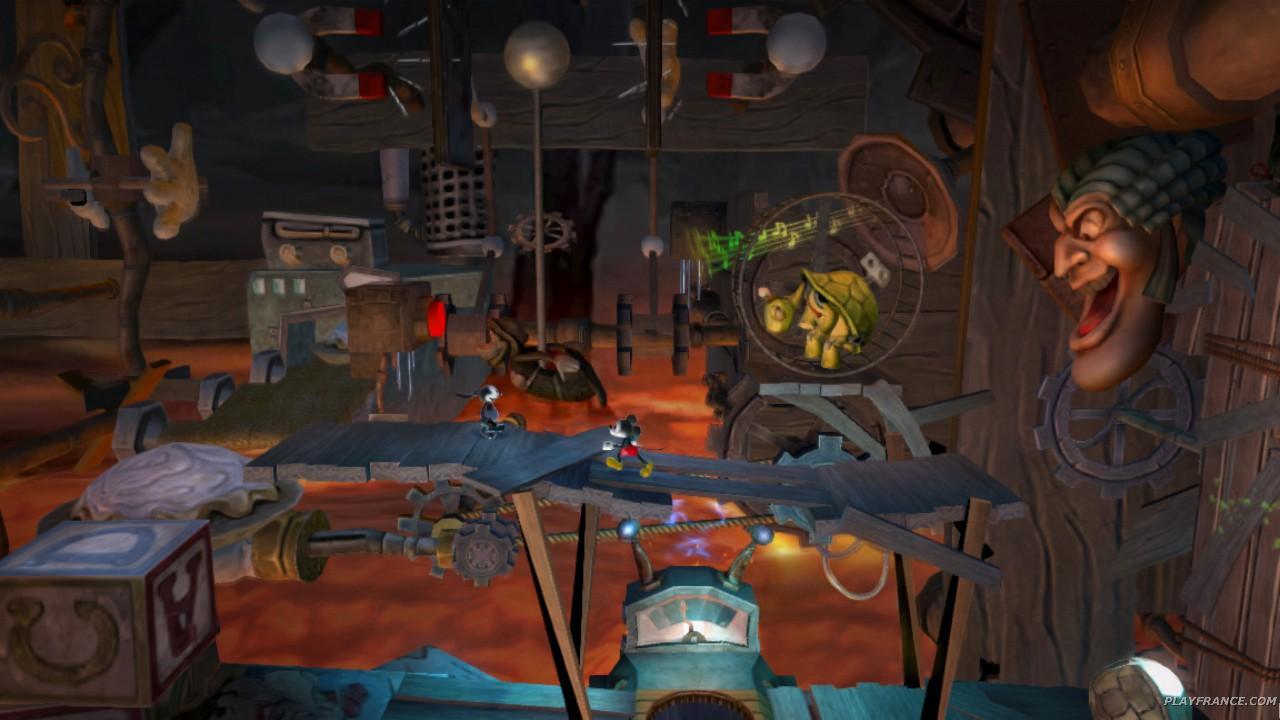 Image12 de Epic Mickey : Le retour des héros