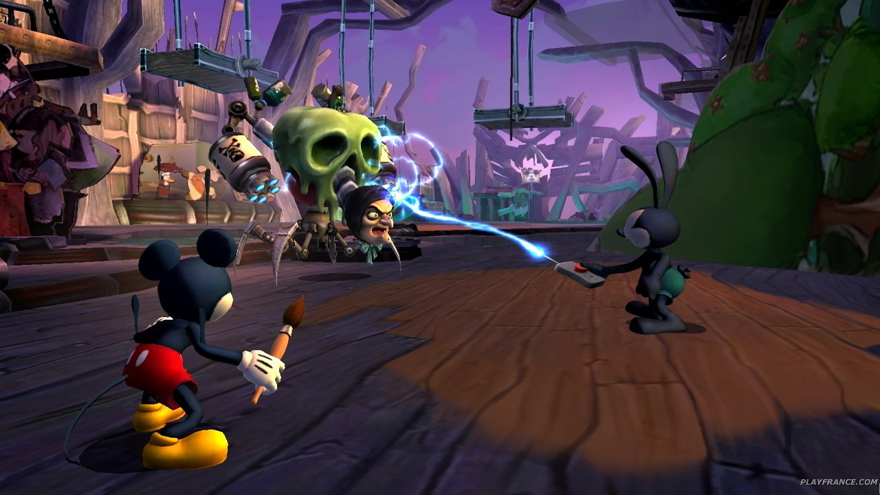 Image24 de Epic Mickey : Le retour des h&eacute;ros