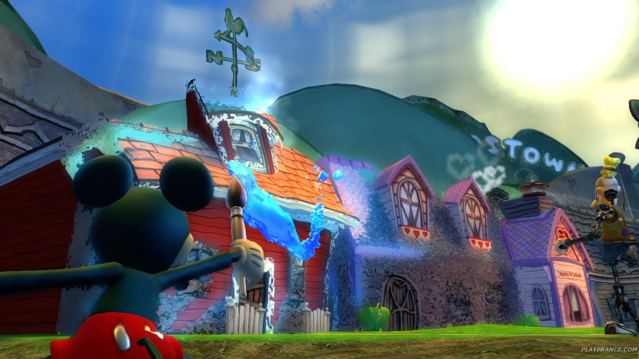 Image23 de Epic Mickey : Le retour des héros