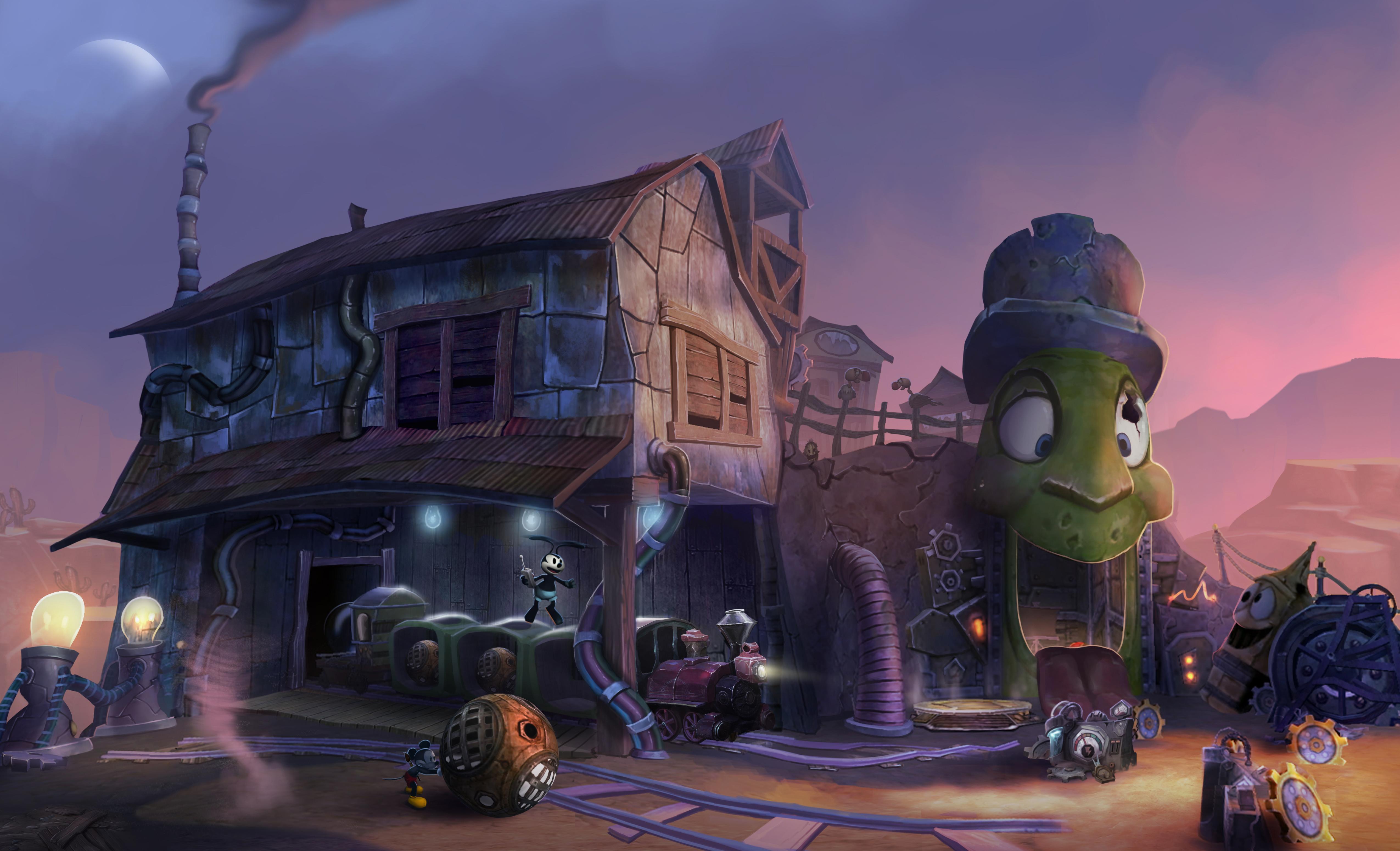 Image27 de Epic Mickey : Le retour des héros