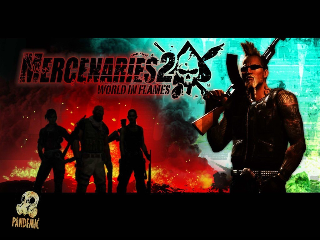 Fond d'�cran2 de Mercenaries 2 : World in Flames - galerie