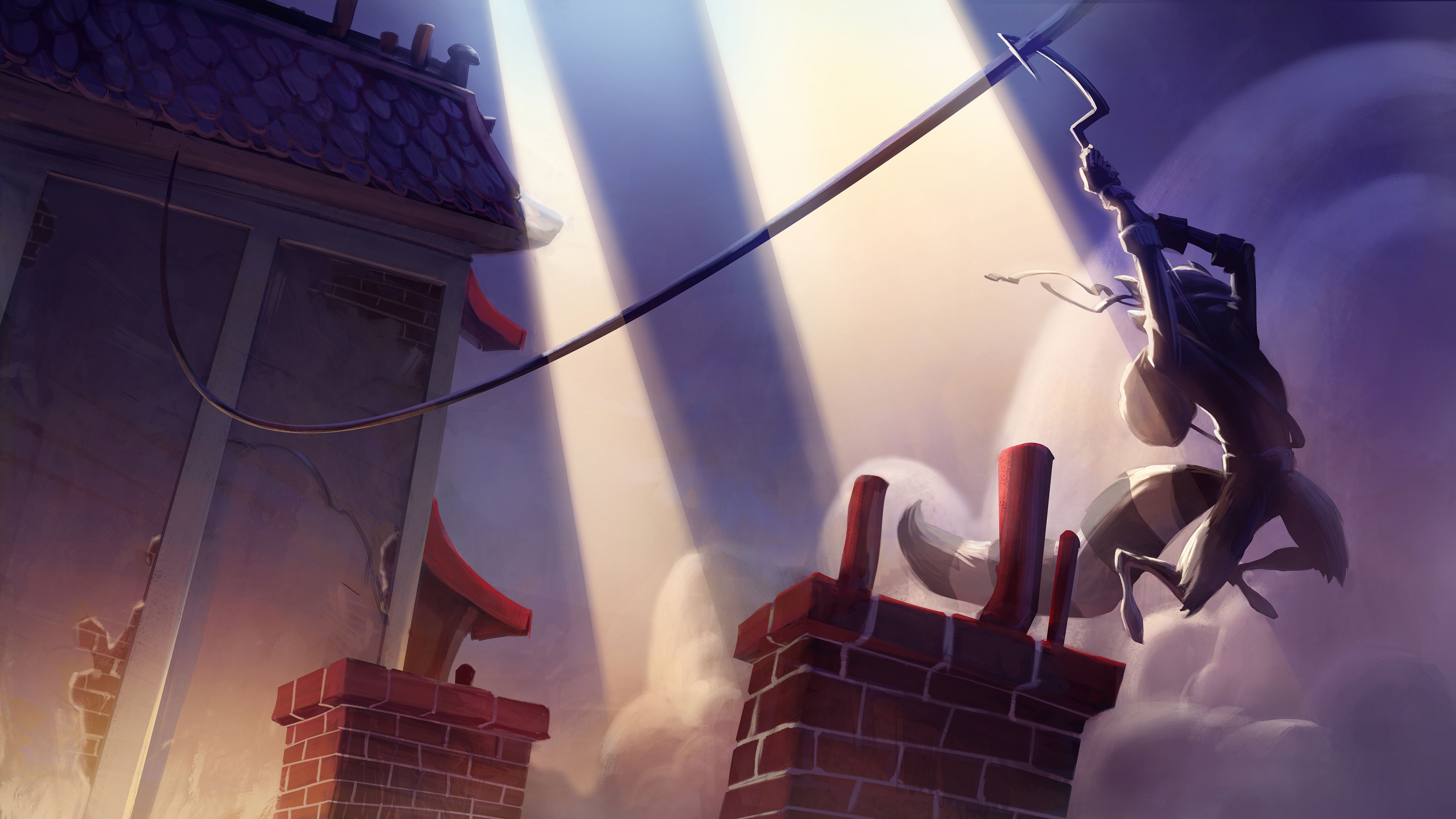 Artwork13 de Sly Cooper : Thieves in Time - galerie