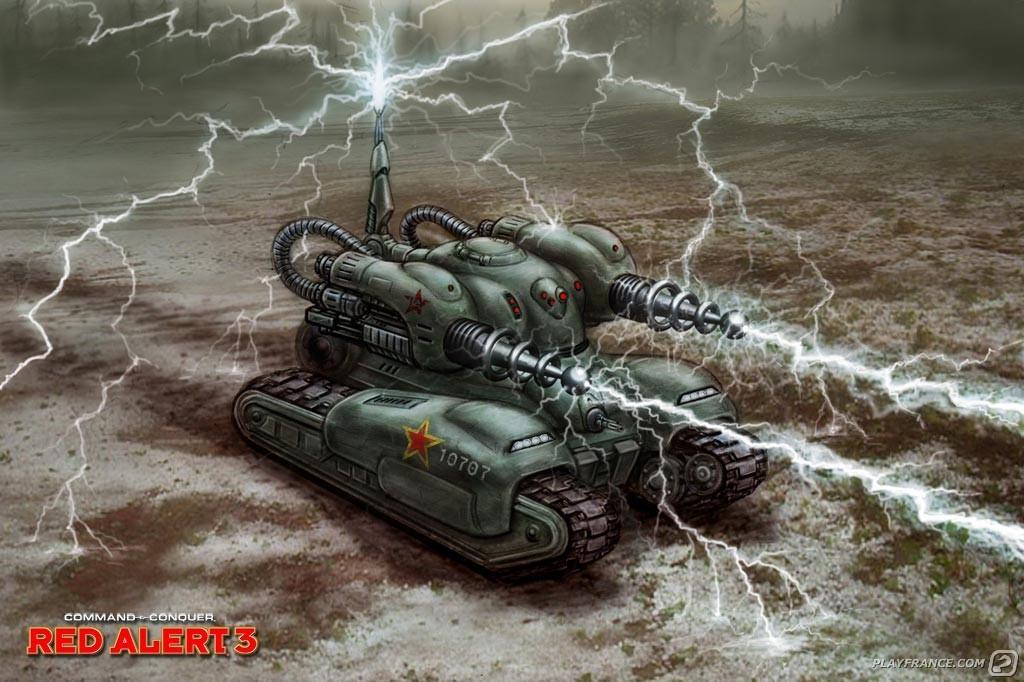 Artwork14 de Command & Conquer : Alerte Rouge 3