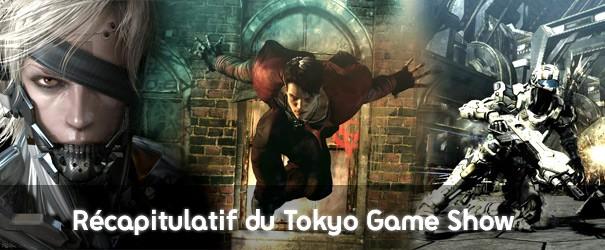 Toutes les news du Tokyo Games Show - 1