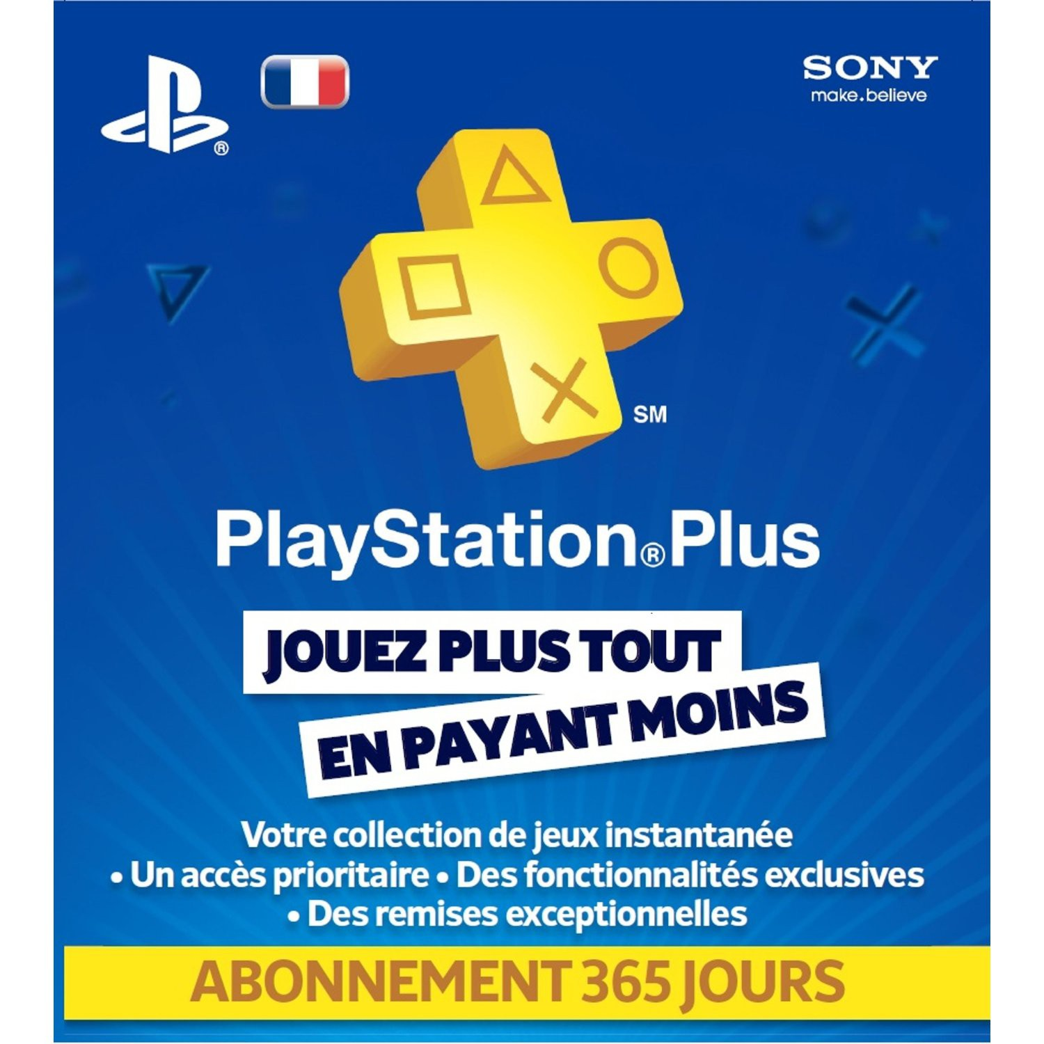 Image2 de [Infos] Le PlayStation Plus a sa carte