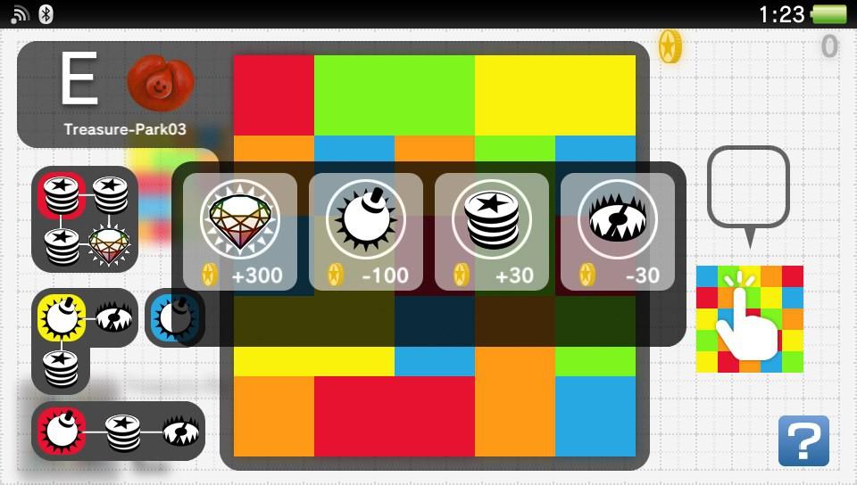 Image3 de [Planning] PSVita : l'appli gratuite Espace aux trésors est là