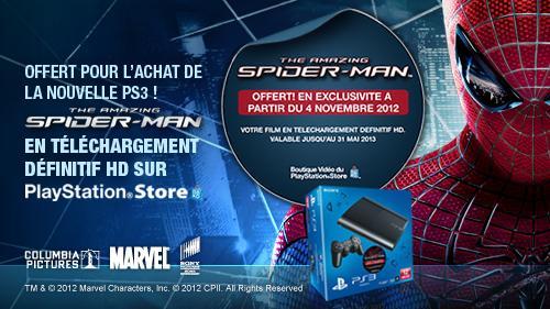 [Infos] PlayStation 3 : et un pack avec le film Spider-Man - 1