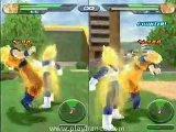 Dragon Ball Z Budokai Tenkaichi - Vegeta et Goku dans le mode versus