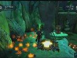 Ratchet & Clank : Op�ration Destruction - Grottes de Sarrdollow