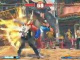 Street Fighter IV - Gameplay Chun-Li vs. C.Viper